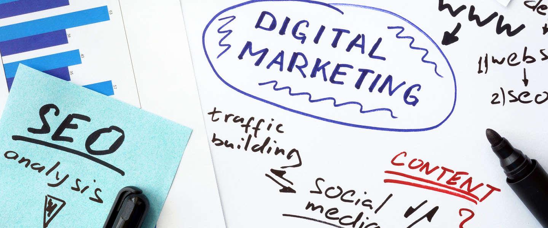 Digital marketing steeds prominenter aanwezig in de marketingmix