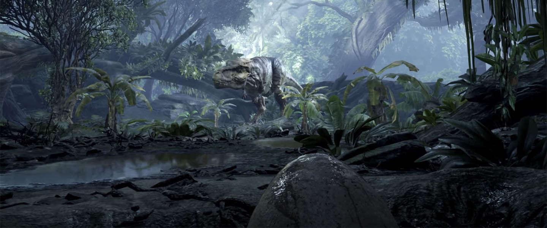 Face-to-face met een dinosaurus in virtual reality