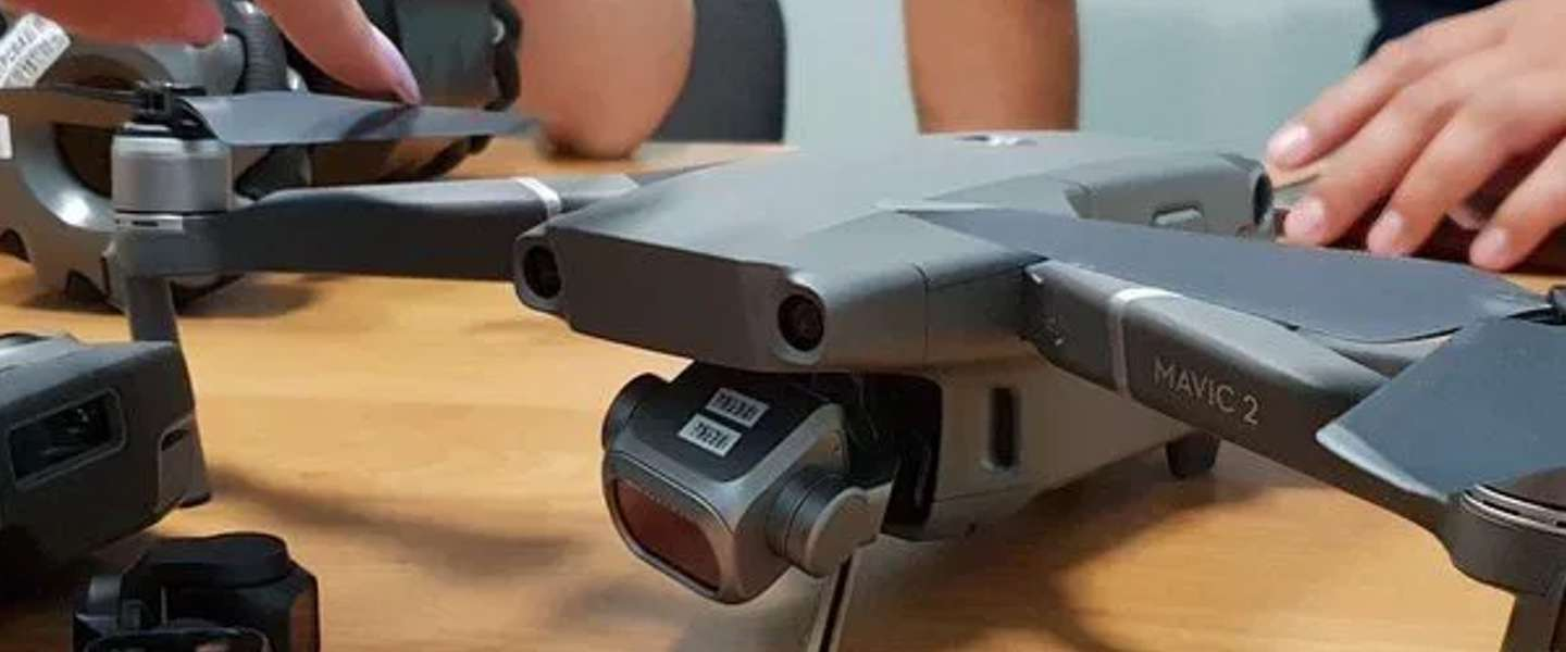 Lek: DJI Mavic 2 specificaties voor launch in advertentie te zien
