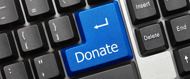 Doneer knop voor non-profitorganisaties op Facebook