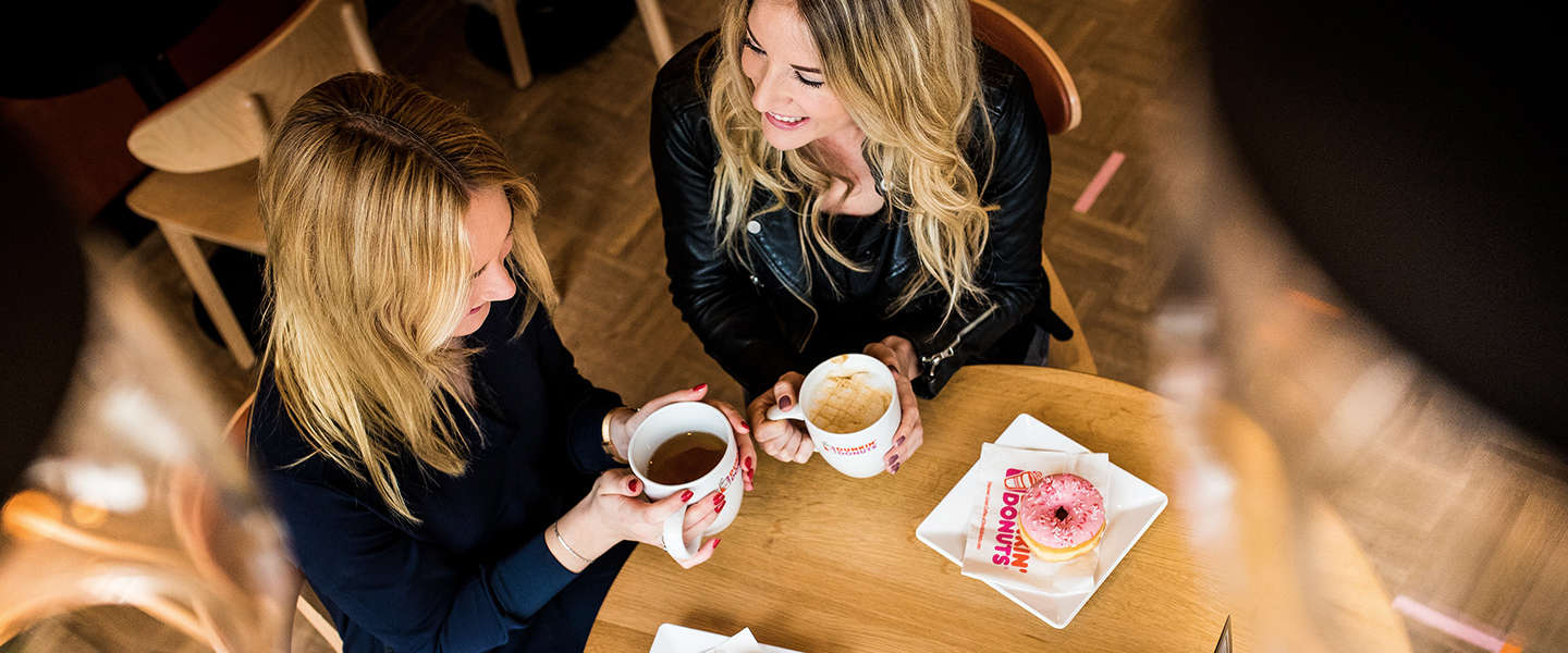 Dunkin' Donuts opent nu ook in Eindhoven