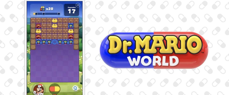 Dr. Mario World vanaf 10 juli voor iOS en Android