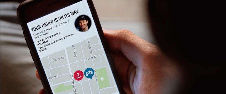 Je pizza bestelling live volgen via een GPS-tracker