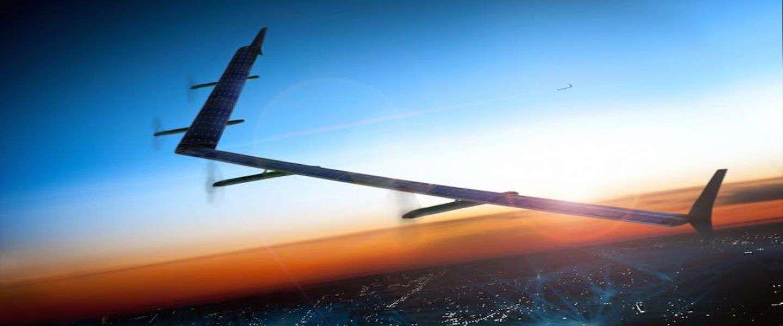 Facebook gaat drone op zonne-energie testen
