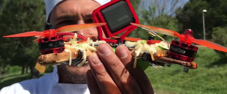 Video: zo maak je een drone van pizza (ja, echt)