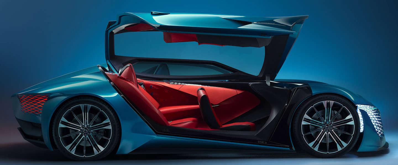DS-X E-tense: supercar van de toekomst