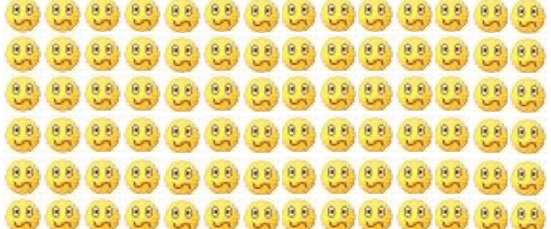 Waarom heeft WhatsApp geen dubbele punt S-smiley?