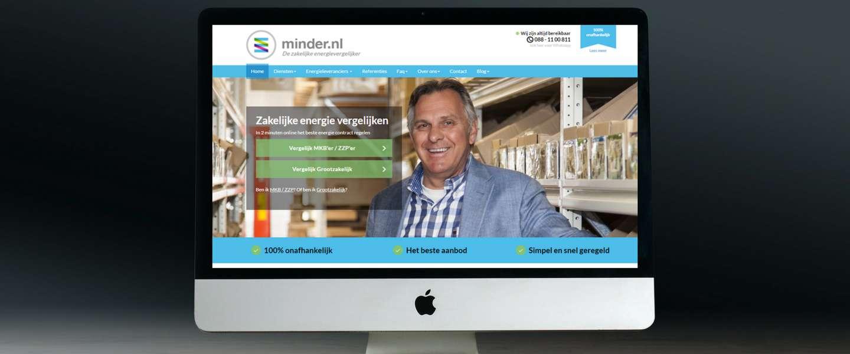 Minder.nl geeft de ondernemer weer regie over zijn energiecontract
