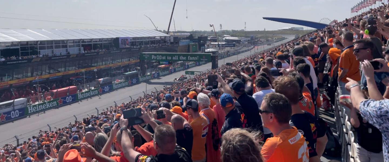 Formule1-racedag: gefeliciteerd Max met de #DutchGP!