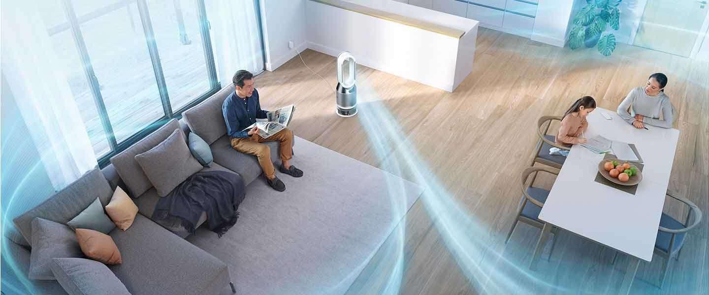 Dyson lanceert eerste luchtreiniger, luchtbevochtiger en ventilator in één