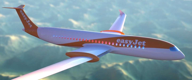 Easyjet wil tegen 2037 elke vlucht onder twee uur elektrisch doen