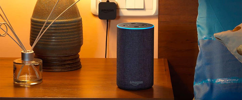 Amazon debuteert draagbare slimme speaker in India
