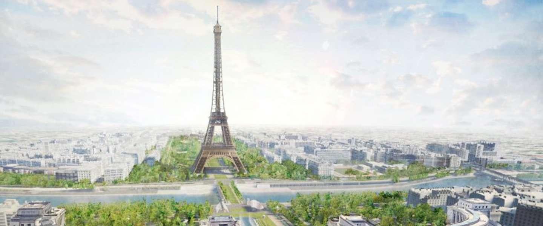 De Eiffeltoren krijgt een compleet nieuw park