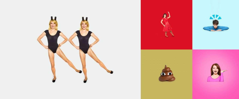 Fotografe laat emoji's tot leven komen