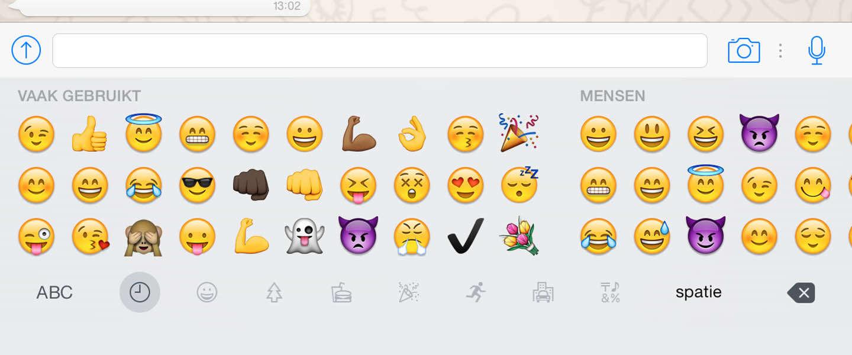 De meestgebruikte emoji in Nederland