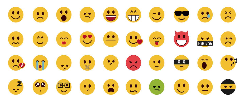 Infographic Zo Worden Emoticons Gebruikt