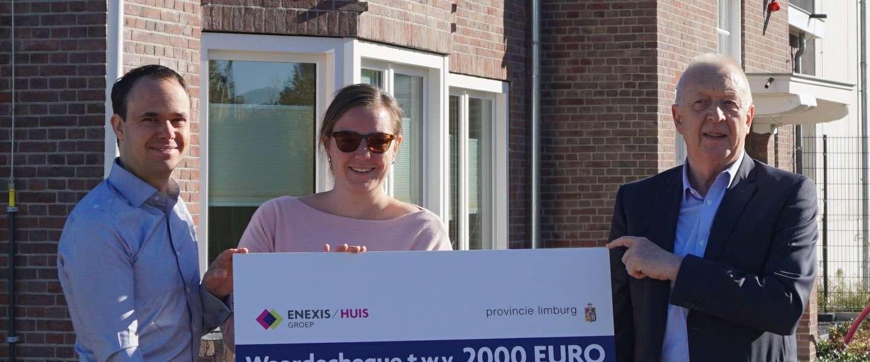 Enexis Huis Limburg heeft het getroffen met de 1000e bezoeker