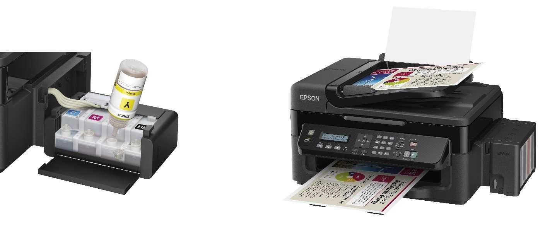 De Epson Ecotank L555 laat je twee jaar printen