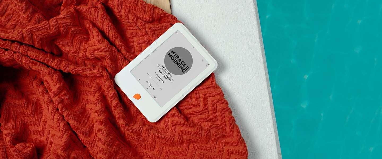 Storytel lanceert eigen e-reader in Nederland
