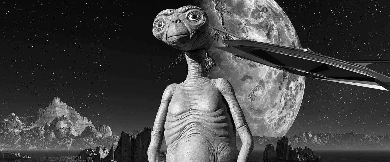 E.T. the Extraterrestrial is terug van weggeweest