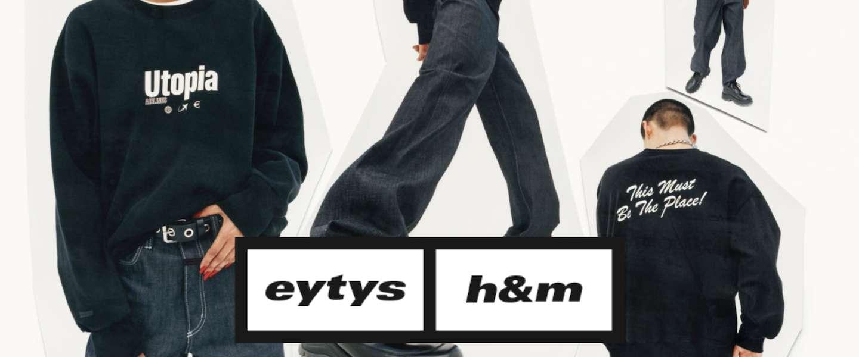 H&M presenteert unisex-collectie in samenwerking met Eytys