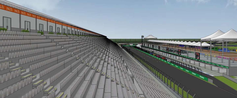 Almere wil het Formule 1 circus naar Nederland halen