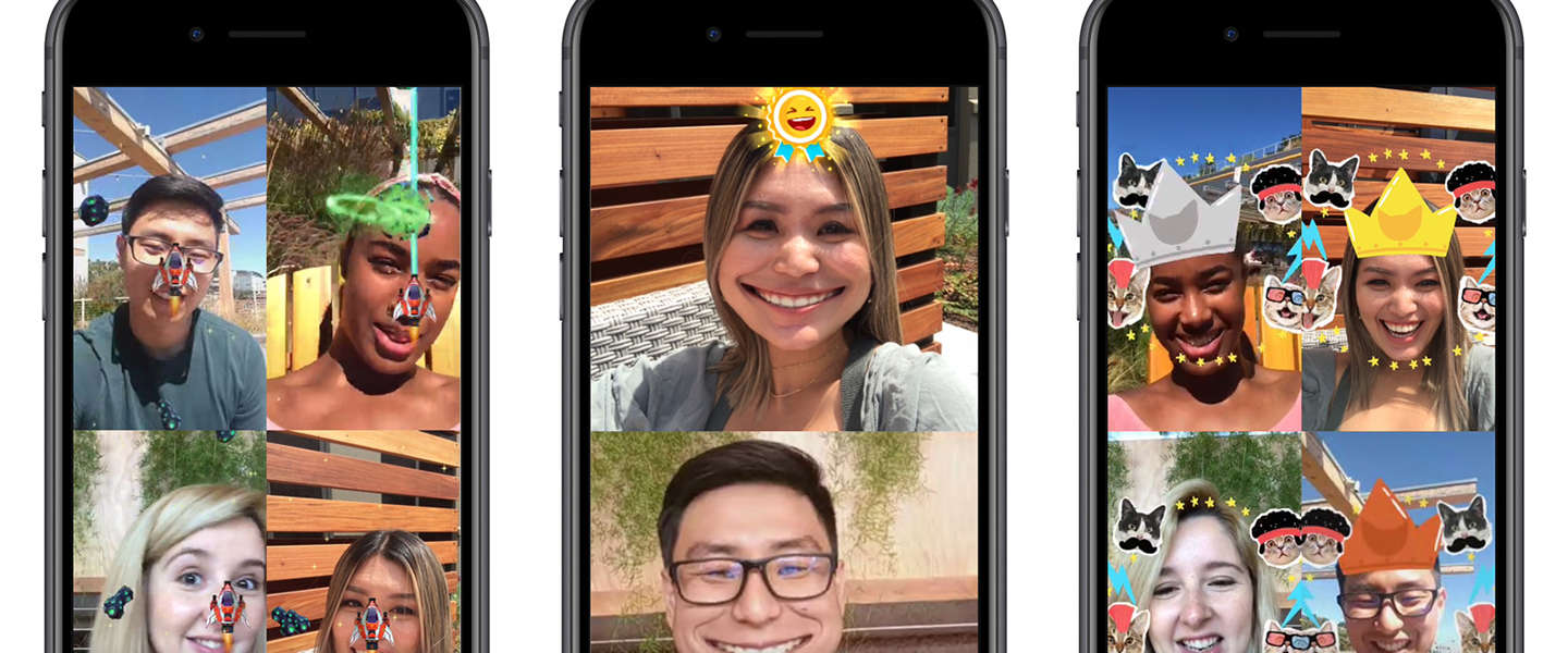 Facebook voegt augmented reality games toe aan Messenger videochat