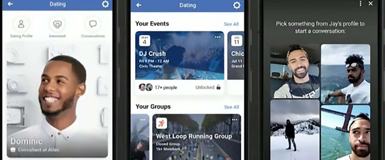 Facebook test datingapp met medewerkers