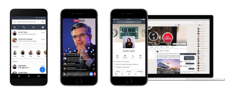 Facebook (her)introduceert Workplace