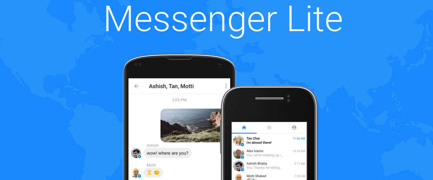 Facebook introduceert Messenger Lite