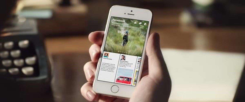 Facebook haalt Paper uit App Store