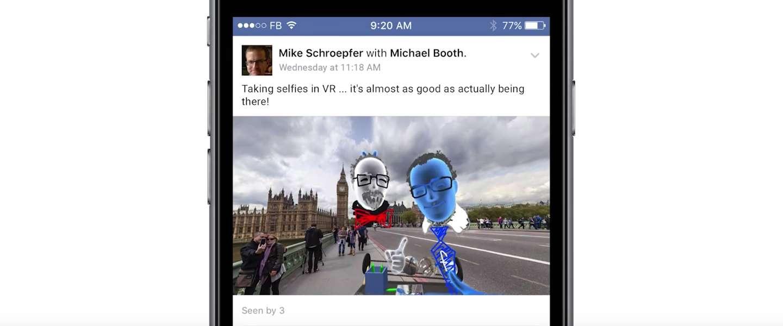 De Facebook VR browser schept kansen voor merken