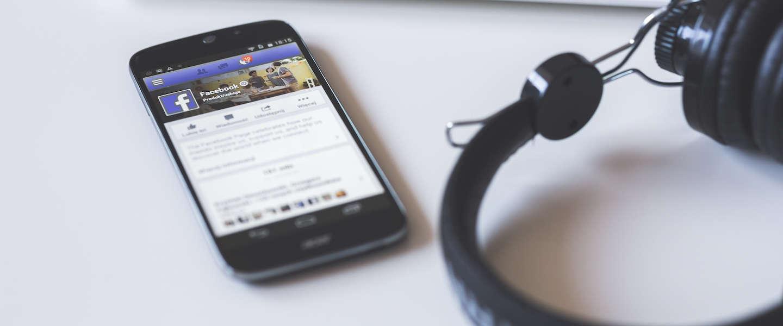 Storing op Facebook bedrijfspagina's