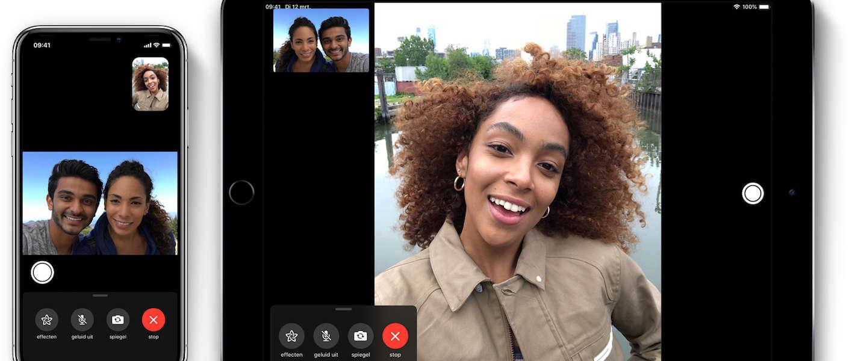 Nieuwe FaceTime feature dwingt je oogcontact te maken