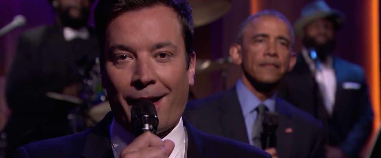 Obama & Jimmy Fallon 'Slow Jam the News'