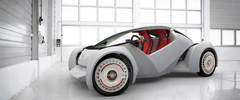 Open source auto bouwer gaat 3D auto printen & bouwen op IMTS Chicago