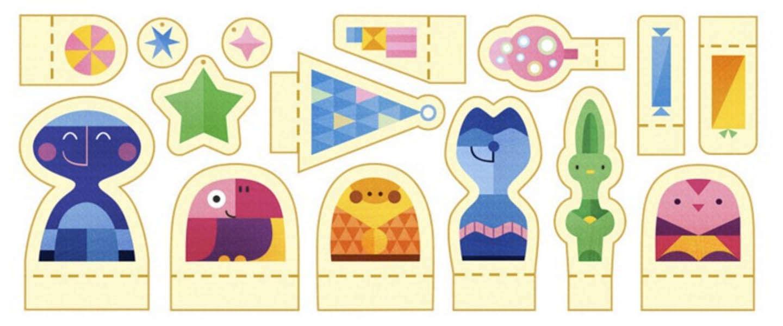 Google Doodle: Feestdagen 2015