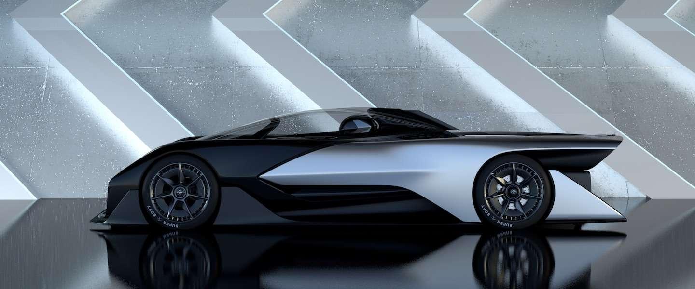 CES Nieuws: FFZero1 Faraday Future, elektrische supercar met 1000 PK