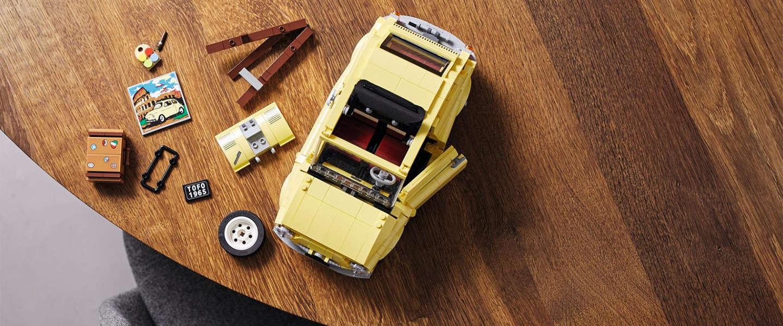 LEGO brengt ode aan de iconische Fiat 500