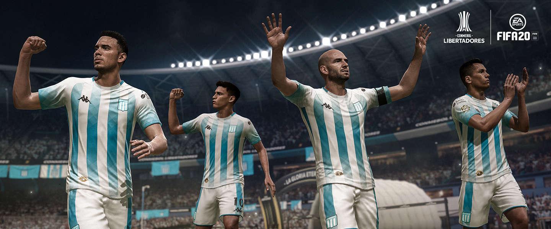 CONMEBOL Libertadores nu beschikbaar in FIFA 20