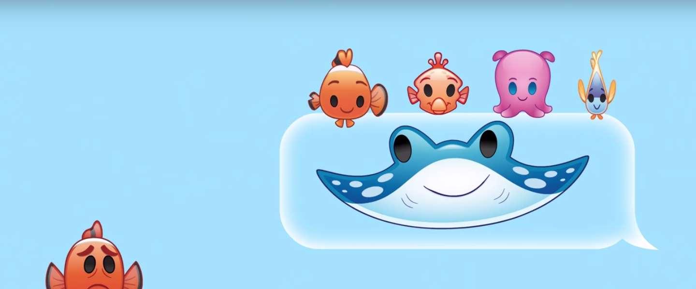 Finding Nemo in emoji's