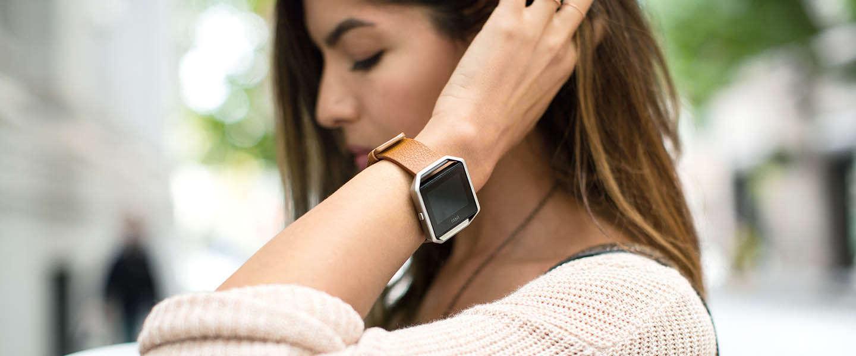 CES Nieuws: Nieuwe tracker van Fitbit, de Blaze