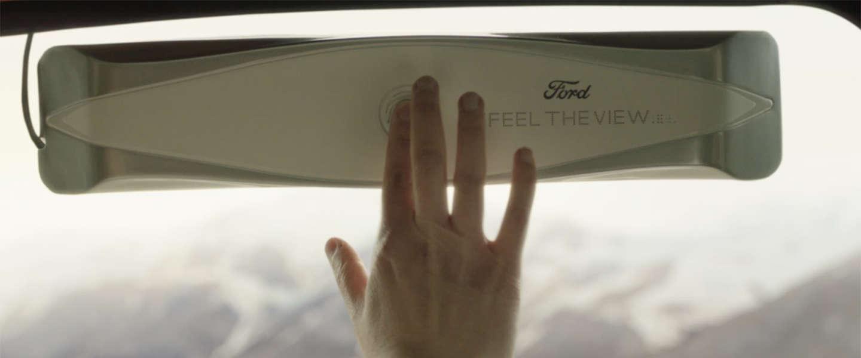 Ford komt met slimme autoruit voor blinde passagiers