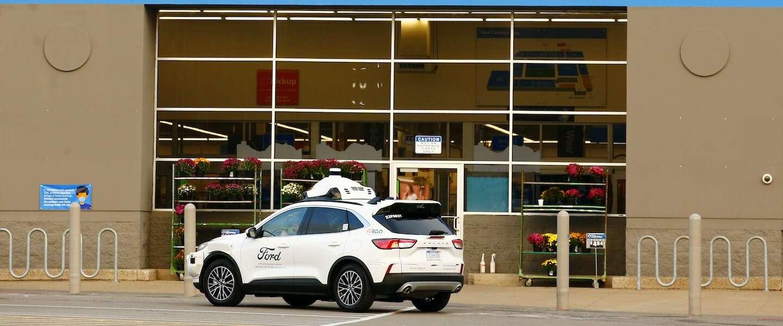Zelfrijdende auto's gaan boodschappen bezorgen in de VS