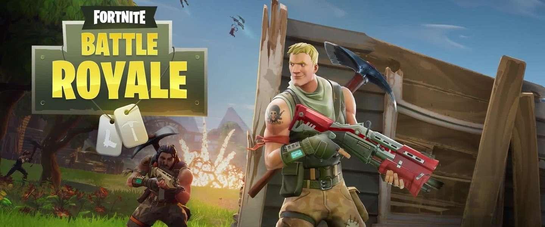 Fortnite Battle Royale komt ook naar mobiel en is cross-play