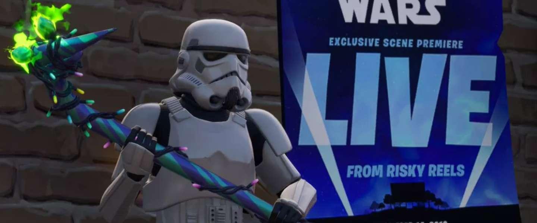 Fortnite een uur uit de lucht door Star Wars