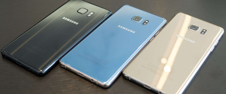 Samsung vertelt deze maand waarom Note 7 telefoons explodeerden