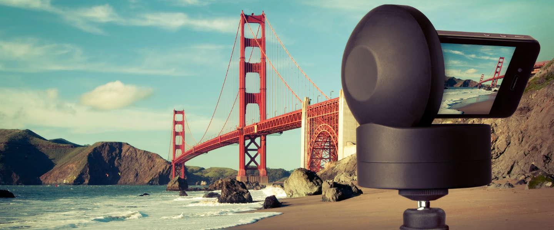 Indrukwekkende panoramafoto's maken met de Motrr Galileo