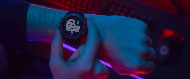 Smartwatch voor E-sporters analyseert en streamt biometrische prestaties