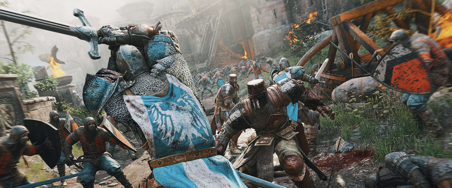 Gamescom 2015: Ridder tegen Samurai tegen Viking in For Honor
